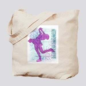 Figure Skating Collage Tote Bag
